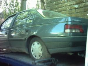Feux arrières droit de peugeot 405 de 1990,