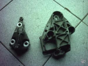2 supports moteur de renault clio 2, 1.9 d de 2000