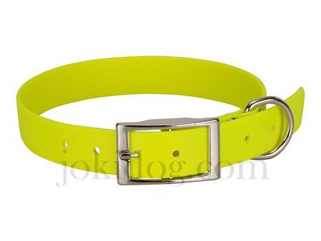 Achat : Collier biothane beta 25 x 60 cm jaune - jokidog  (Colliers pour chiens) - Colliers pour chiens neuf et d'occasion - Achat et vente