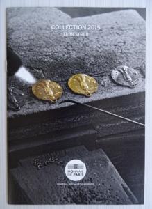 Fascicule monnaie de paris 2015 trimestre ii