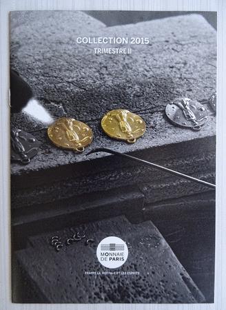 Achat : Fascicule monnaie de paris 2015 trimestre ii  (Pièces) - Pièces neuf et d'occasion - Achat et vente