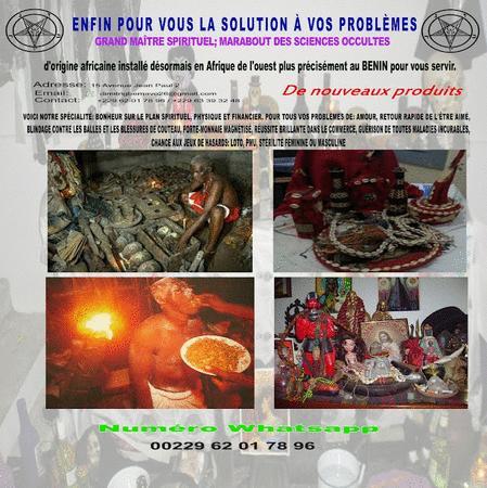 Achat : Sorcier sérieux dah gbemavo 24h/24 +229 62017896  (Art) - Art neuf et d'occasion - Achat et vente