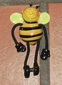 Magnet ficelle abeille