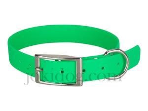 Collier biothane beta 25 x 60 cm vert - jokidog