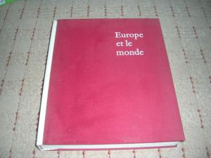 Livre de collection : l'europe et le monde