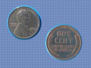 Tres belle piece : usa – 1917 - one cent - lincoln