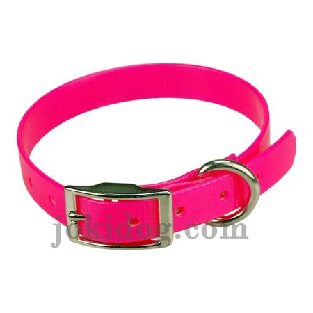 Achat : Collier biothane 19 mm x 45 cm rose  (Colliers pour chiens) - Colliers pour chiens neuf et d'occasion - Achat et vente