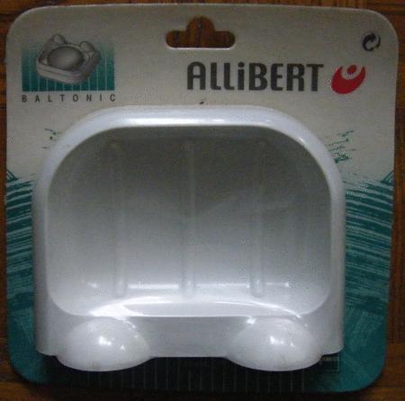Achat : Porte savon plastique blanc modèle allibert neuf  (Porte-savons) - Porte-savons neuf et d'occasion - Achat et vente