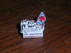 Rare : pins expedition pole nord fondation elf