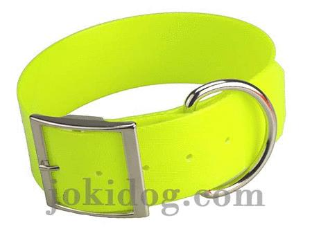 Achat : Collier biothane 50 mm x 70 cm jaune  (Colliers pour chiens) - Colliers pour chiens neuf et d'occasion - Achat et vente