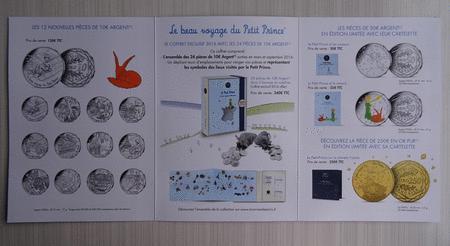 Achat : Flyer monnaie de paris voyage du petit prince 2016  (Pièces) - Pièces neuf et d'occasion - Achat et vente