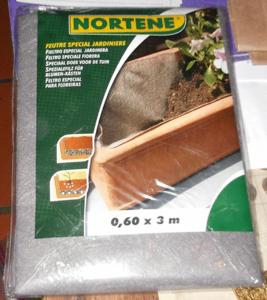 Feutre spécial jardinière, de nortène