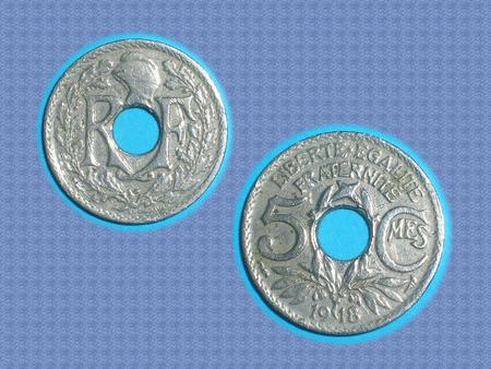 Achat : Tres rare : pièce de 50 cts – 1918 – trouee !  (Pièces) - Pièces neuf et d'occasion - Achat et vente