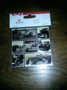 Stickers vielles auto