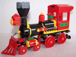 Lego disney toys story train locomotive western
