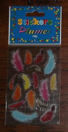 Achat : Stickers plumes  (Autres jeux créatifs) - Autres jeux créatifs neuf et d'occasion - Achat et vente