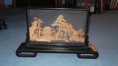 Achat : Vitrine miniature jardin japonais  (Autres objets décoratifs) - Autres objets décoratifs neuf et d'occasion - Achat et vente