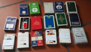 Jeux de cartes divers