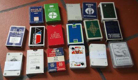 Achat : Jeux de cartes divers  (Lots de jeux de cartes) - Lots de jeux de cartes neuf et d'occasion - Achat et vente