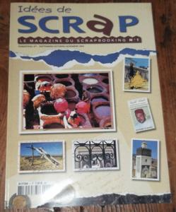 Idées de scrap - le magazine du scrapbooking - n°1