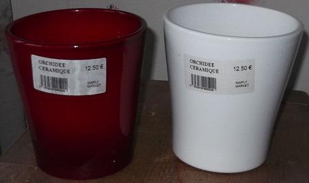 Achat : 2 pots pour plantes neufs  (Pots de fleurs) - Pots de fleurs neuf et d'occasion - Achat et vente