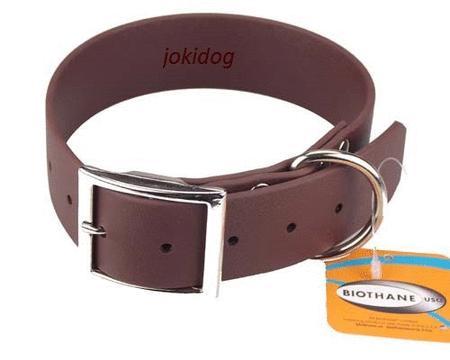 Achat : Collier biothane beta 38 x 70 cm marron - jokidog  (Colliers pour chiens) - Colliers pour chiens neuf et d'occasion - Achat et vente