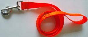 Laisse 1.50m orange fluo
