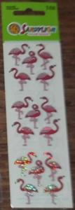"Stickers sandylion ""flamands roses"""