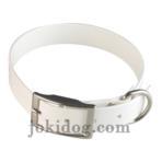 Collier Biothane 25 Mm X 55 Cm Blanc (Colliers Pour Chiens) - Colliers Pour Chiens neuf et d'occasion - Achat et vente