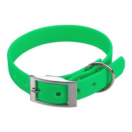 Achat : Collier biothane beta 16 x 35 cm vert  (Colliers pour chiens) - Colliers pour chiens neuf et d'occasion - Achat et vente