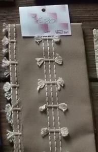 Coupon de tissu décoratif