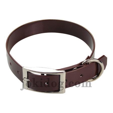 Achat : Collier biothane 25 mm x 55 cm marron foncé  (Colliers pour chiens) - Colliers pour chiens neuf et d'occasion - Achat et vente