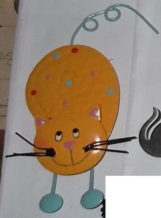 Achat : Magnet grand chat  (Autres objets décoratifs) - Autres objets décoratifs neuf et d'occasion - Achat et vente
