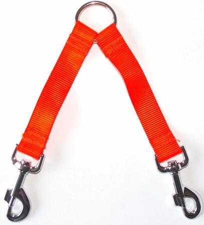 Achat : Accouple fluo orange  (Chien accessoires) - Chien accessoires neuf et d'occasion - Achat et vente