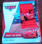 Drap De Bain CARS LIGHTING Mc QUEEN Pixar Disney (Draps De Bain) - Draps De Bain neuf et d'occasion - Achat et vente