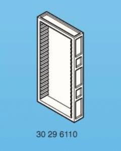 Playmobil mur 60 x 120 avec étagères