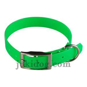 Collier biothane 25 mm x 60 cm vert