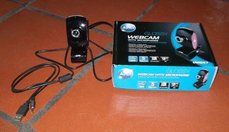 Achat : Webcam avec microphone apm uw057  (Webcam) - Webcam neuf et d'occasion - Achat et vente