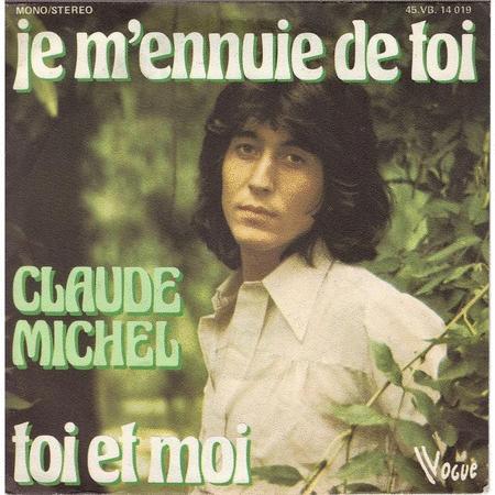 Achat : Claude michel je m'ennuie de toi  (Vinyles (musique)) - Vinyles (musique) neuf et d'occasion - Achat et vente