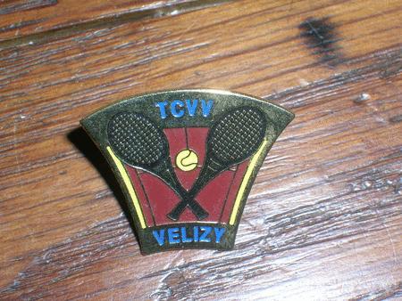 Achat : Pins tennis club de velizy villacoublay  (Pins') - Pins' neuf et d'occasion - Achat et vente