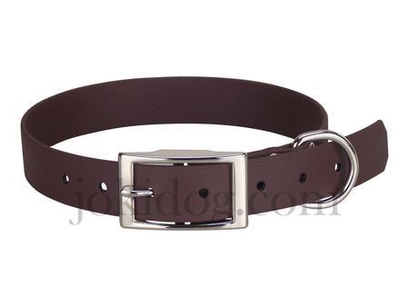 Achat : Collier biothane beta 25 x 55 cm marron foncé  (Colliers pour chiens) - Colliers pour chiens neuf et d'occasion - Achat et vente