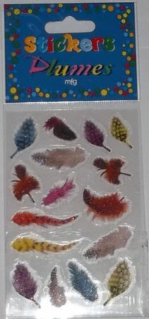 Achat : Sticker plumes  (Autres jeux créatifs) - Autres jeux créatifs neuf et d'occasion - Achat et vente