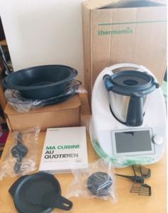 Robot thermomix vorwerk tm6 neuf avec garantie jus