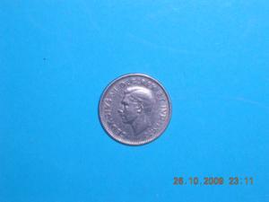 Piece - canada – 1945 - 10 cents - george vi – arg