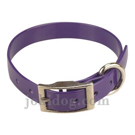 Achat : Collier biothane 19 mm x 45 cm violet  (Colliers pour chiens) - Colliers pour chiens neuf et d'occasion - Achat et vente