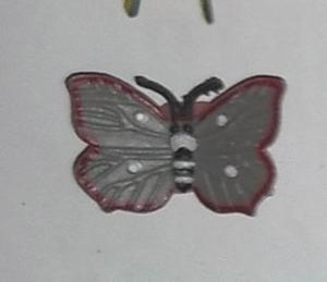 Magnet papillon 6