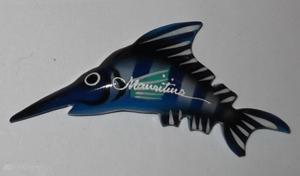 Magnets en plastique - motifs poisson