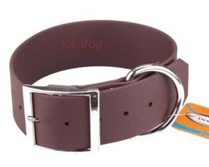 Collier biothane beta 50 x 70 cm marron - jokidog