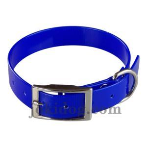 Collier biothane 25 mm x 60 cm bleu roi