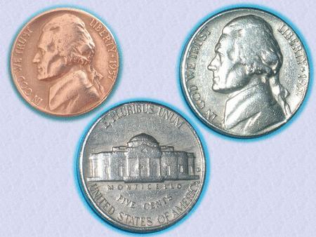 Achat : Superbe piece : usa – five cents – jefferson– 1957  (Pièces) - Pièces neuf et d'occasion - Achat et vente
